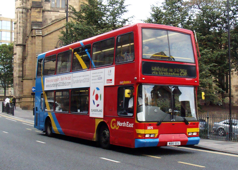 London Bus Routes Go North East Route 25a Go North