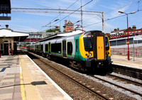 London Midland, 350125, Harrow & Wealdstone