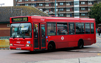 Route P13, Abellio London 8014, BX54DME, Peckham