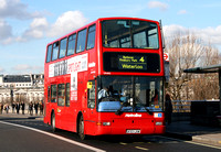 Route 4, Metroline, VP495, LK53LXM, Waterloo Bridge