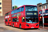 Route 120, London United RATP, ADE9, YX12FNP, Hounslow