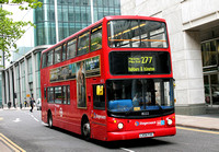 Route 277, Stagecoach London 18222, LX04FXK, Canary Wharf