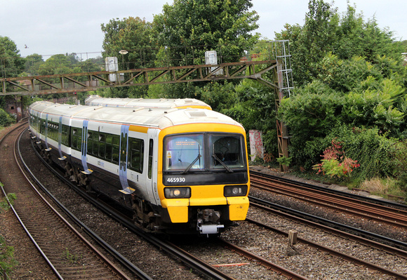 Southeastern, 465930, Bromley