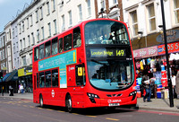 Route 149, Arriva London, DW437, LJ11ABU, Dalston