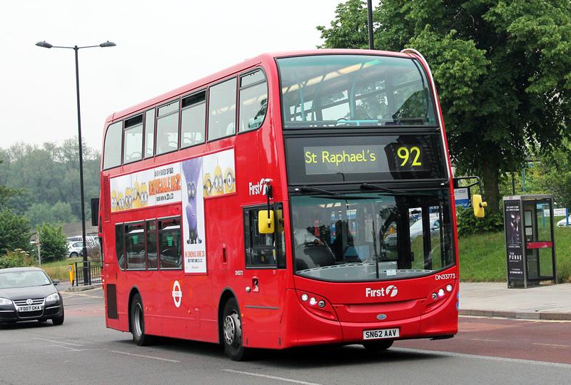 London Bus Routes Route 92 Ealing Hospital St Raphael