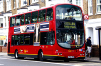 Route 14, Go Ahead London, WVL60, LF52ZPX, Fulham Palace Rd