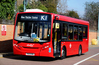 Route K1, Abellio London 8127, YX13EHO, Kingston