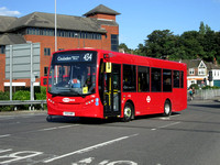 Route 434: Coulsdon, Ridgemount Avenue - Whyteleafe South